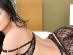 Fingering glam asian babes juicy pussy railed