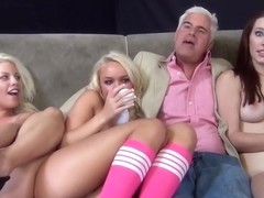 Hottest pornstars Melody Jordan, Nikki Sexx and Britney Amber in best 69, big tits adult video