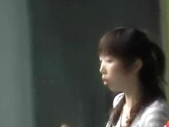 Intense sharking encounter with fabulous Asian slag and horny lad
