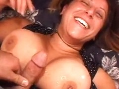 Spraying Monster Pointer Sisters With Cum