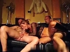 Korean Wife Group-Fucked Hard