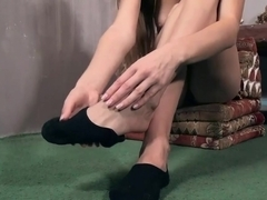Fabulous pornstar in Horny Foot Fetish, Solo Girl adult clip