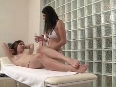 Candy Sweet C & Zafira in Hot Chicks, No Dicks Movie