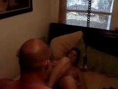 Beginners sex video in a dimmed room