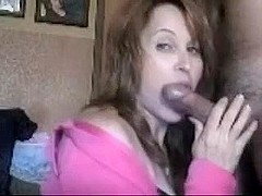 Real Mature Teacher Wife Gives Spectacular Blowjob-Sex