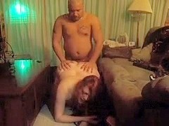 Chunky redhead can't live out of getting fucked from behind by darksome