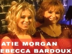 Young Katie Morgan and Rebecca Bardoux in Hot Orgy!