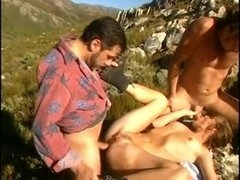 gangbang on a rocky ridge