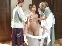 Jessica & Judit & Juliette in Seduced Maids - SapphicErotica