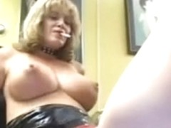 Golden-Haired mastix with 2 tranny thrall Part 4