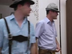german lederhosen fuck party orgy