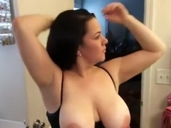 Plump wife blows and fucked ends with cum load on face
