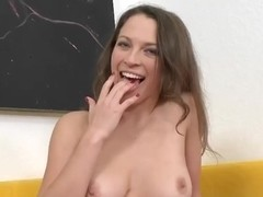 Bruno Dickenz gets blowjob and riding from Lily Love
