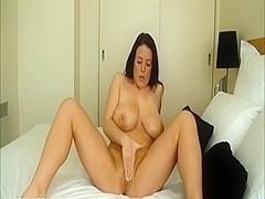 Delicious busty livecam model