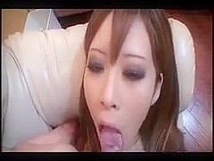 she  swallows a sperm and said  it  bitter