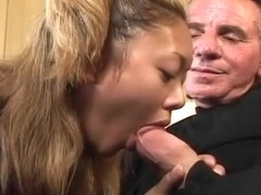 Cute Submissive Slut gets Her Face covered in Goo