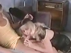 SH Retro Blonde Pornstar Black And White DP