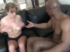 Business lady Shayla Laveaux called big black lover to spend this weekend with a huge dick