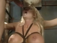 Blonde submission sex