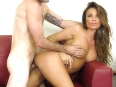 Anissa Kate & Jake Adams in Busty And Wild Anissa - WildOnCam