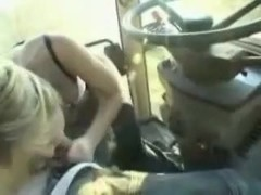 Cute  immature fucked on a farm truck