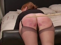 Voluntary caning for Miss Smith