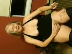 Tied up serf gilf gets a fuckable punishment from her master