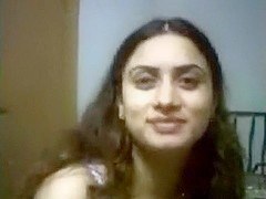 I take of my indian wifes brassiere and play with her brown nipps