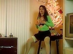 Classic Hot Cougar Smoking Teasing and Solo Diddling