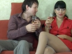 PantyhoseJobs Clip: Muriel and Rolf