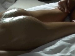 Studying lesbian massage therapy techniques