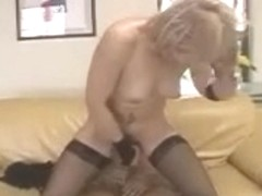 Hawt Brazilian Older Lady with hot outfit and lace gloves