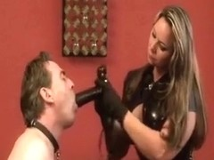 Horny amateur Blonde, Slave sex movie