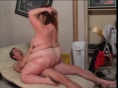 Plump sweetheart can't live without to ride large wang
