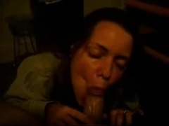 Wife Sucks My Ding-Dong  & Gives A Cook Jerking Until I Cum On Her Face