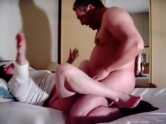 Fat naughty wife having sex