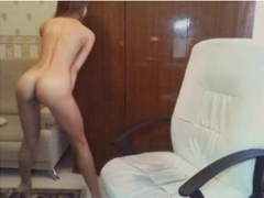 Blond secretary drives her sexually excited boss wild.