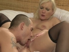 MOM stud fucks his MILF lover