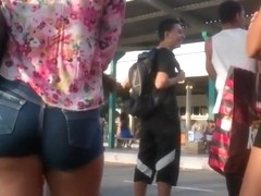 Ass in shorts that deserved a whistle