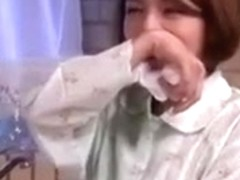 Asian Mom Secretly Fingered by not son and Make her Squirt