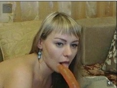 girl working secam was connected on chat part 1
