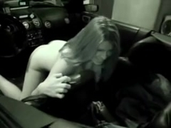 Hot Club Whore fucks car