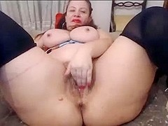 Dirty mature on cam