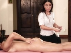 Serena Blair & Valentina Nappi in The Salesgirl - AllGirlMassage