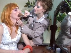StraponSissies Video: Rosa and Randolph