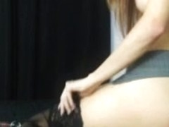 Redhead fingering and toying