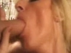 PANTYHOSED MOMMY COOKS DINNER FOR ALLY