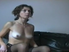 Pretty black brown wife make a hot sex joy with husband when parents leave,damn