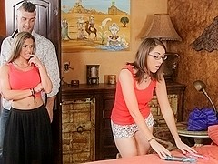 Nickey Huntsman, Rachel Roxx, Ramon Nomar in Couples Seeking Girls #18,  Scene #03