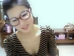 Amazing amateur clip with skinny, asian, small tits, webcam, solo scenes